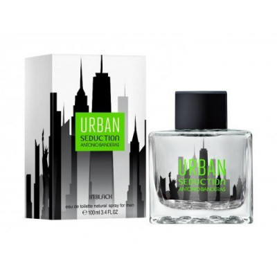 "Antonio Banderas ""Urban Seduction in Black"" 100 ml оптом"