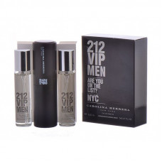 Carolina Herrera 212 vip men 3x20 ml